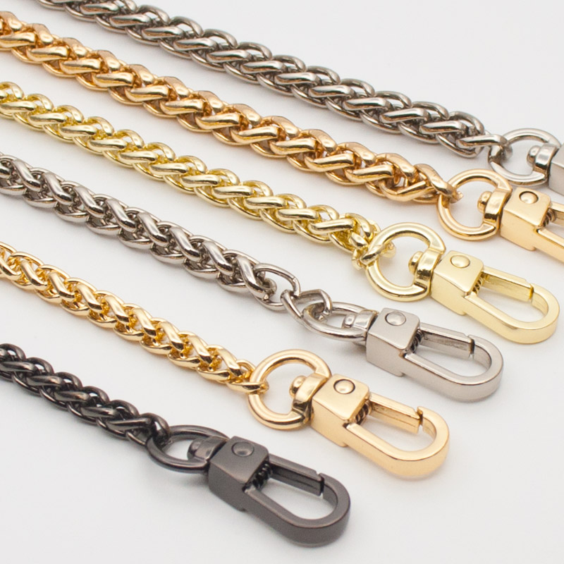 Woman Fashion Bags Accessory Chain Fashion New Wallet Accessroies Chain Handbag Solid Chain Handle Shoulder Bag Strap