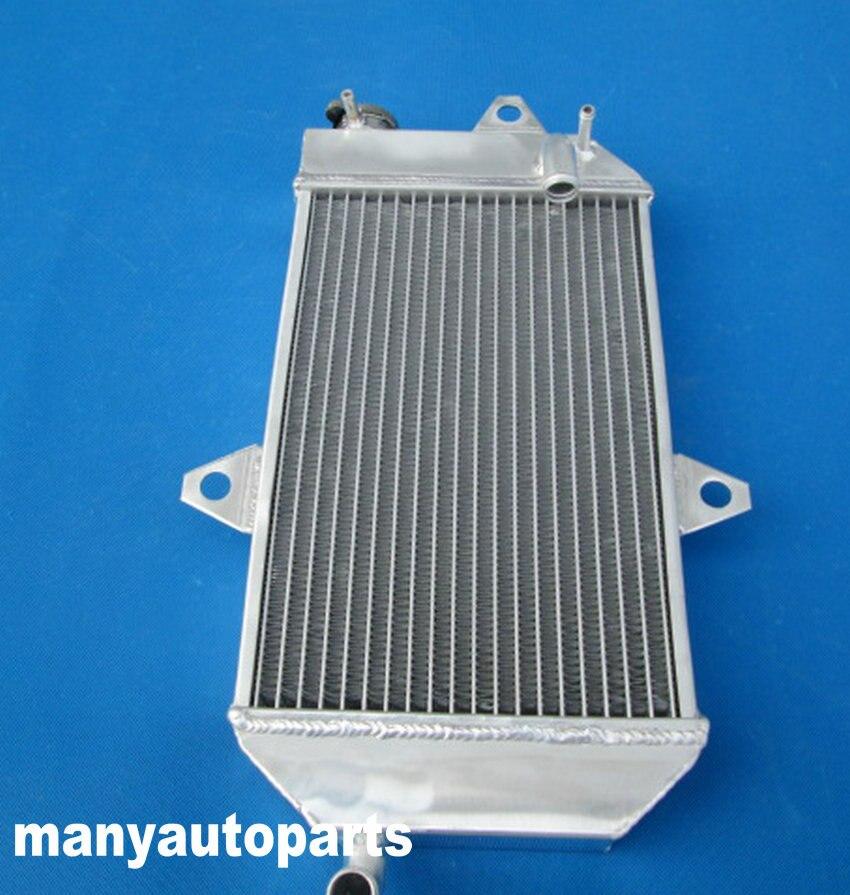 ATV Yamaha Banshee YFZ 350 YFZ350 oversized Aluminum Radiator /& Silicone Hose