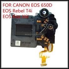 Бесплатная Доставка Выдержки Блока Затвора Ассамблея Затвора Компонент Замена Для Canon 650D EOS Rebel T4i EOS Kiss X6i-2