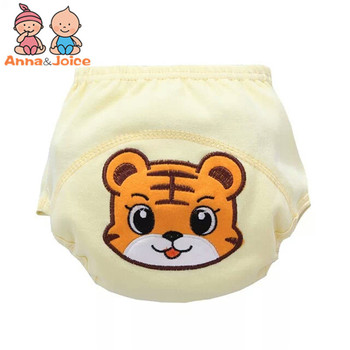 3 Pcs/lot Baby Washable Diapers Underwear/100% Cotton Breathable Diaper Cover/Training Pants B1trx0002 5