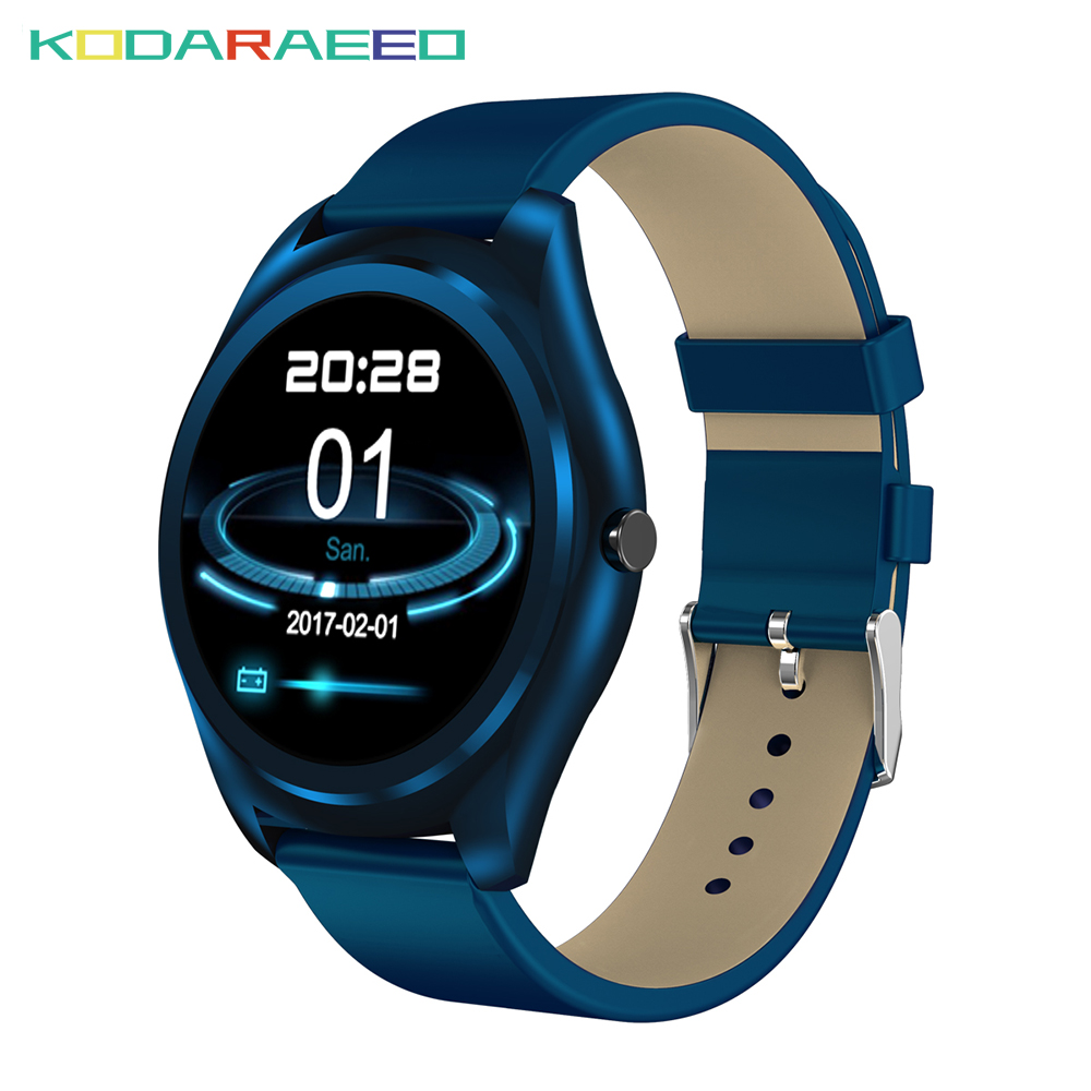 N3 Pro Smart Watch 1.3 Inch MTK2502 HD Slim Bluetooth Smartwatch Heart Rate tracker Monitor Fitness Tracker For Android IOS цена