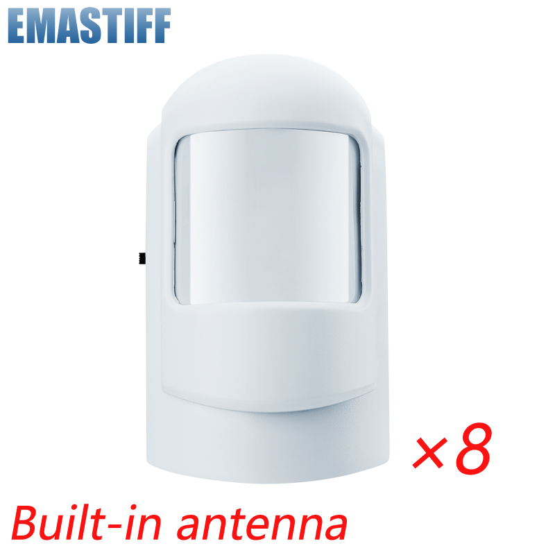 433Mhz Wireless Intelligent PIR Motion Sensor Senso For GSM PSTN Home Alarm System Without Antenna Infrared