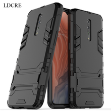 sFor OPPO Reno Z Case Cover Business Luxury Robot Hard Back Fundas Phone For