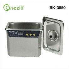 New BAKU BK-3550 110V/220V Stainless Steel 800ml Ultrasonic Cleaner Fo