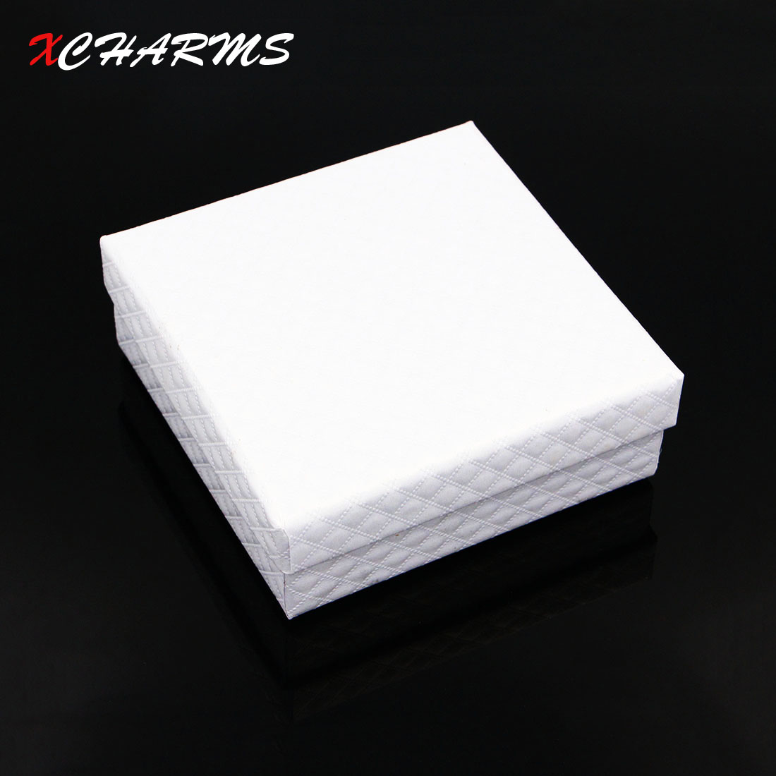 White Fashion Jewelry PU Leather Gift Box Square Candy Box Rustic Wedding Candy Holder Bags Wedding Party Birthday Gift Boxes