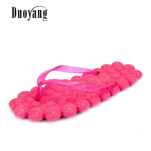Woman sandals fashion massage flip flops women Slippers Summer Color casual Women shoes