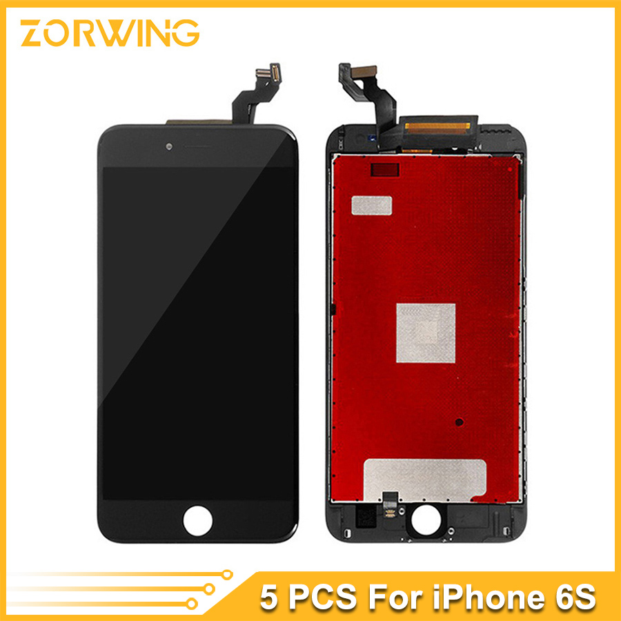 5PCS Wholesale Grade AAA 4.7 inch LCD Screen For iPhone 6S Display Touch Screen With Digitizer Replacement Assembly Free DHL buyton 100%brand new aaa lcd for iphone 6p 5 5 inch display touch screen digitizer assembly with touch screen gift