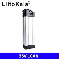 LiitoKala 36V 500W battery 36v 10ah electric bike battery 36V 10AH Lithium battery for bafang/8fun 350w 500w motor