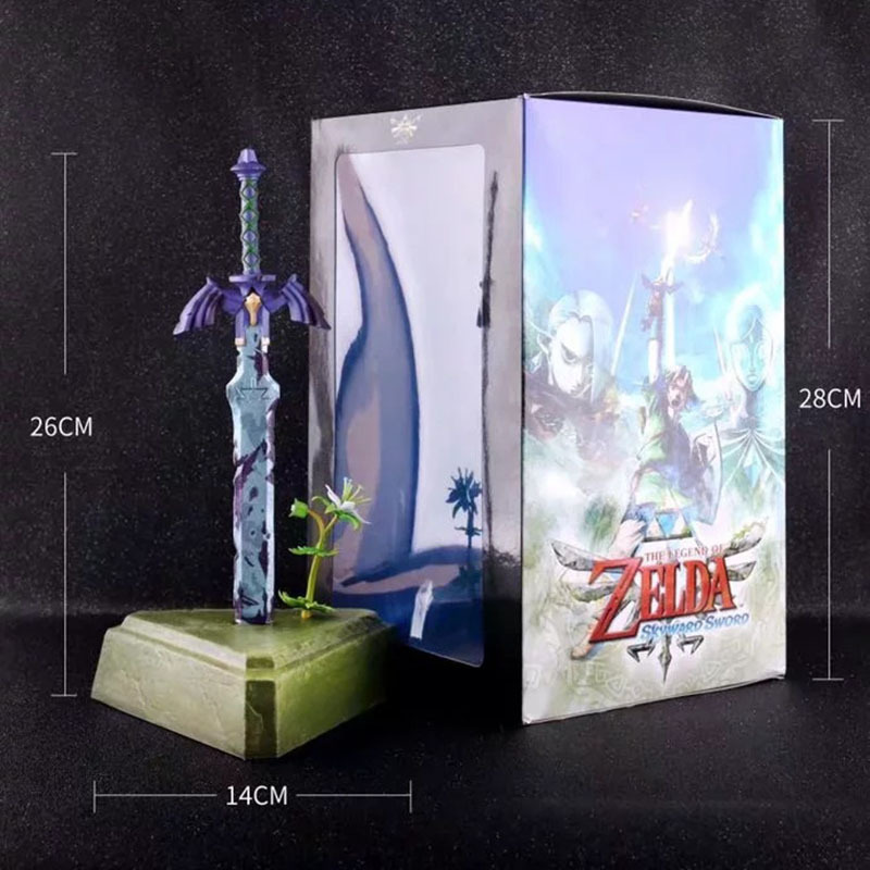 26cm Zelda Skyward Sword link Master Sword Action figure toys doll Xmas Christmas gift with box B19