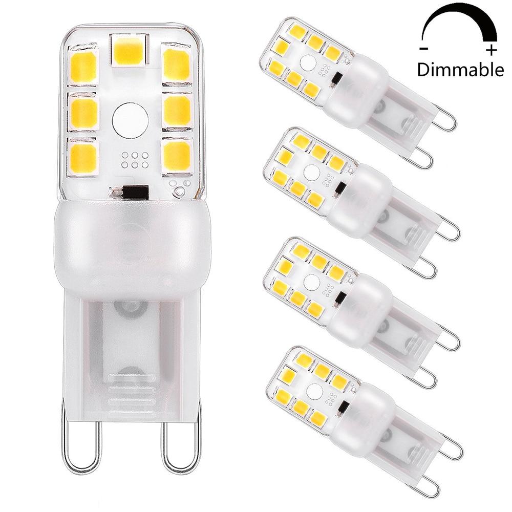 LED Bulb Lightbulb Lamp Energy Saving Lamp G9 Warm White 3W Like 25W Dimmable