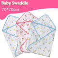 Soft Cozy Baby 70*70 Swaddle Wrap Envelope For Newborn Baby Blanket Swaddle Carters Cotton Gauze Sleeping Bag Infant Bedding