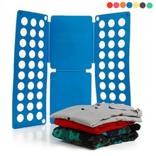 Convenient Clothes Folder Organizer T-shirts Quick & Easy Shirt for Folding Clothing Bender Board