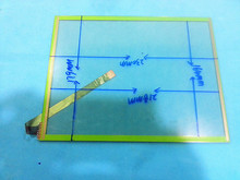 Original 10.4 inch touch screen digitizer 230mm*179mm 10 wire resistive of T404 1 touch screen panel glass
