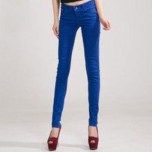 Señora color caramelo pantalones 2018 nueva moda primavera y otoño algodón  sexy pies jeans cremallera cintura 8ba502ad855
