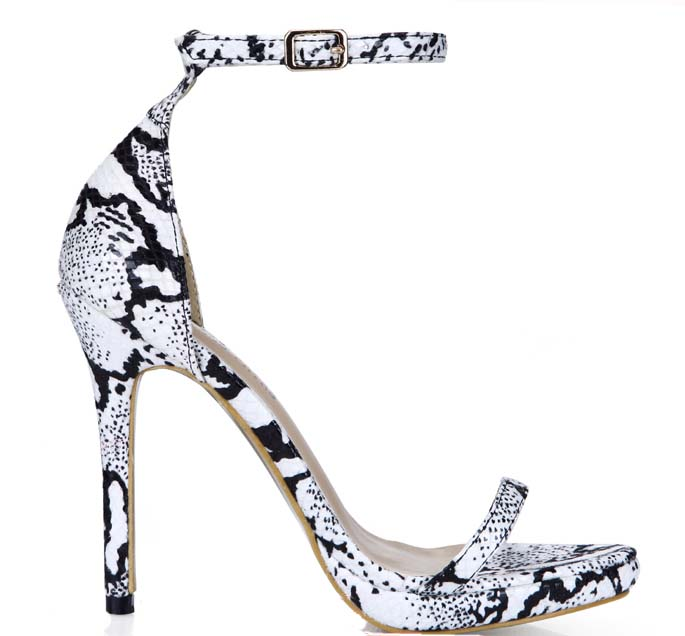 big size 34-43 women PU leather snake print sandals sexy gladiator high heels buckle summer shoes platform ladies dress pumps hee grand gold silver high heels 2017 summer gladiator sandals sexy platform shoes woman casual shoes size 35 43 xwz4075