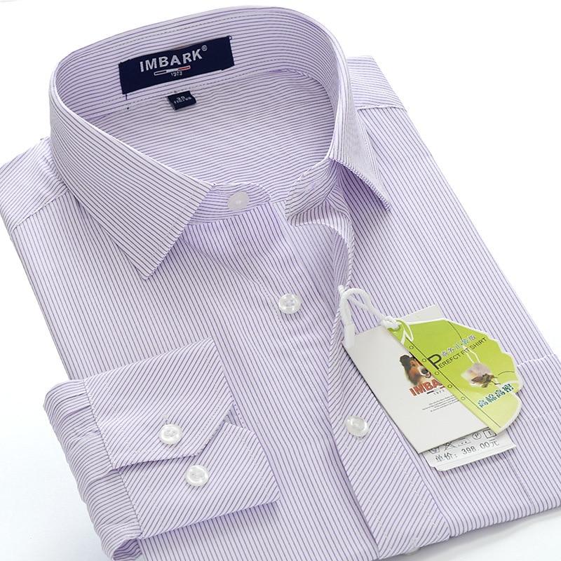 Men's business casual long-sleeved shirt  1
