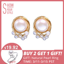 5959f5f3bc991 Large Gold Stud Earrings Promotion-Shop for Promotional Large Gold ...