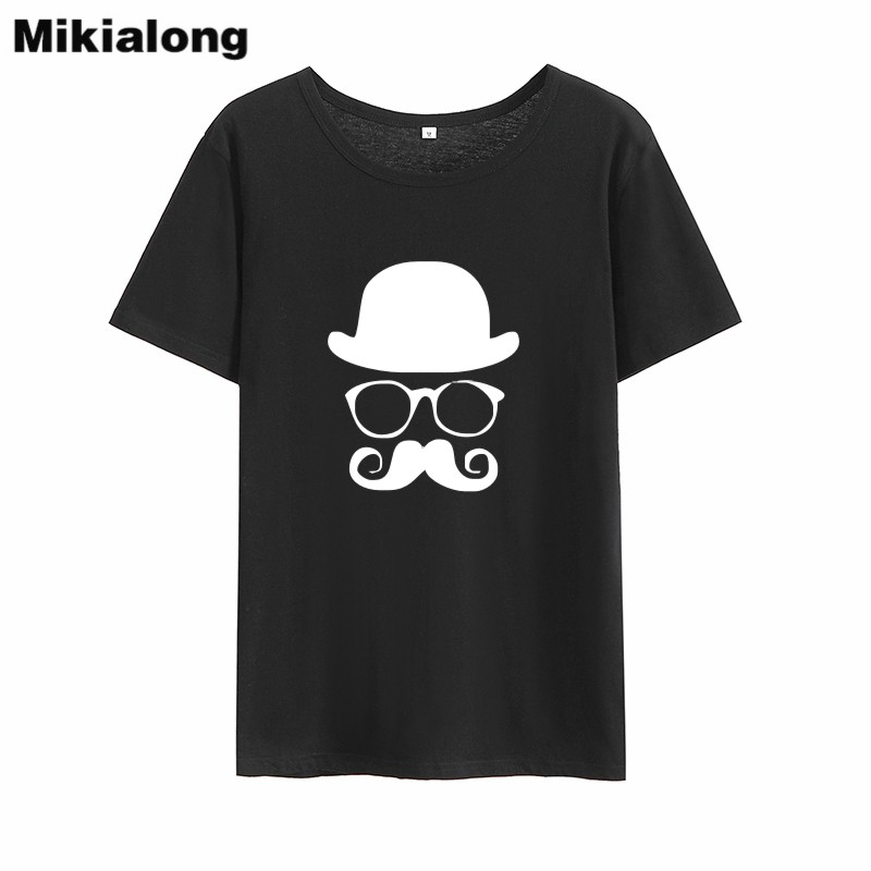 Mikialong Cartoon Graphic Harajuku Funny T Shirts Women 2018 Summer Short Sleeve Cotton Tee Shirt Femme Tumblr Women Tshirt