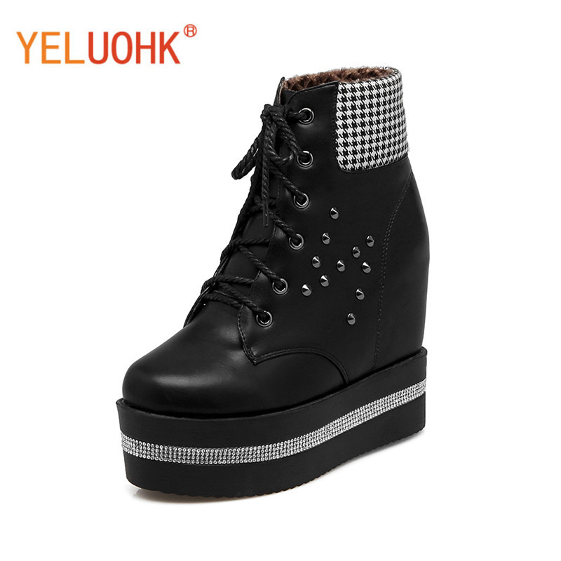 Women Winter Boots Platform Winter Women Boots Female Winter Shoes Ankle Boots For Women