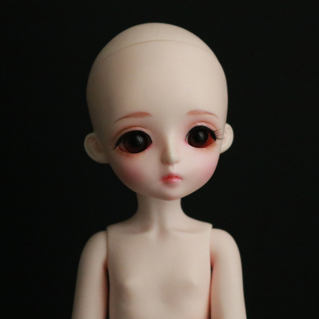 1/6 BJD Doll BJD/SD Cute Miu Joints Doll For Baby Girl Birthday Gift With Free Eyes Free Shipping   3