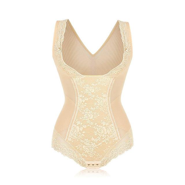 Mujeres sexy body adelgaza shapers butt lift control tummy fajas bras ascensor entrenador cintura corsés ropa interior de encaje transparente