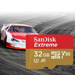 Image 5 - New Arrival 2017 SanDisk Micro SD karty pamięci o pojemności 32 gb Microsdhc U3 A1 Class10 100 mb/s Trans Flash Cartao de pamięci wyboru z karty SD 32 gb