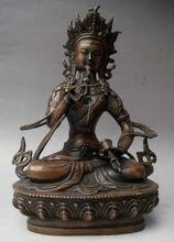 Tibet Tibetan Bronze Vajrasattva Dorje Sempa Statue