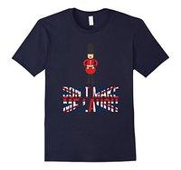 Brand 2017 New T Shirt Man Cotton FUNNY GUARDSMAN T-SHIRT British UK United Kingdom London