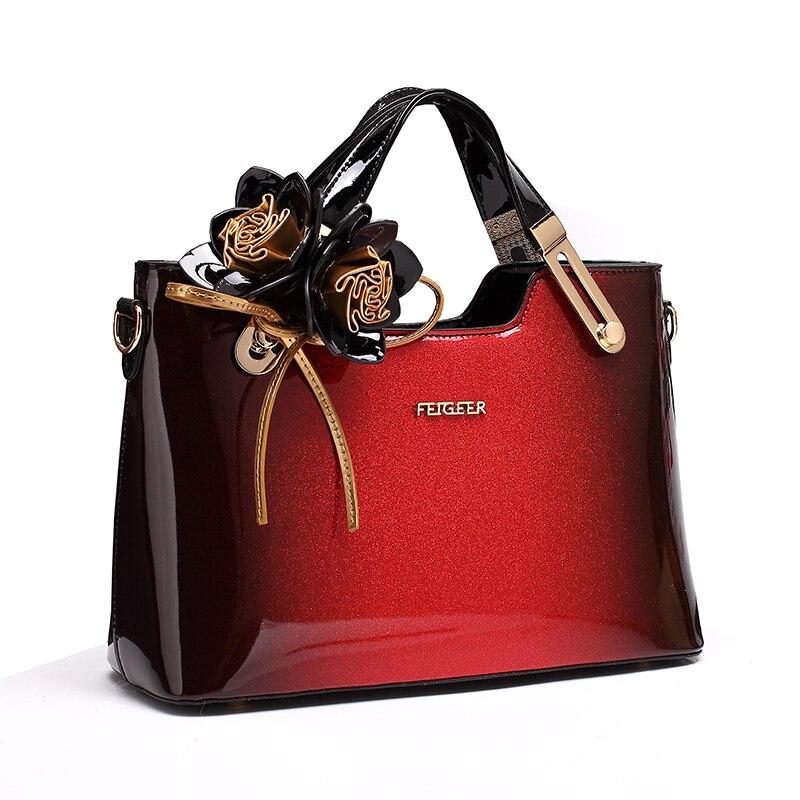Новинка 2018 года роскошные сумки для женщин сумка дизайнер высокое качество лакированной кожаные сумочки известный бренд Вечеринка клатч