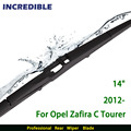 "Rear Wiper Blade for Opel Zafira C Tourer (from 2012 onwards) 14"" RB470"