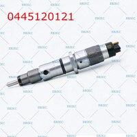 ERIKC 0445120121 dizel enjeksiyon 0445 120 121 ve otomobil yakıt yüksek basınçlı enjektör 0 445 120 121 Cummins ISLE motor