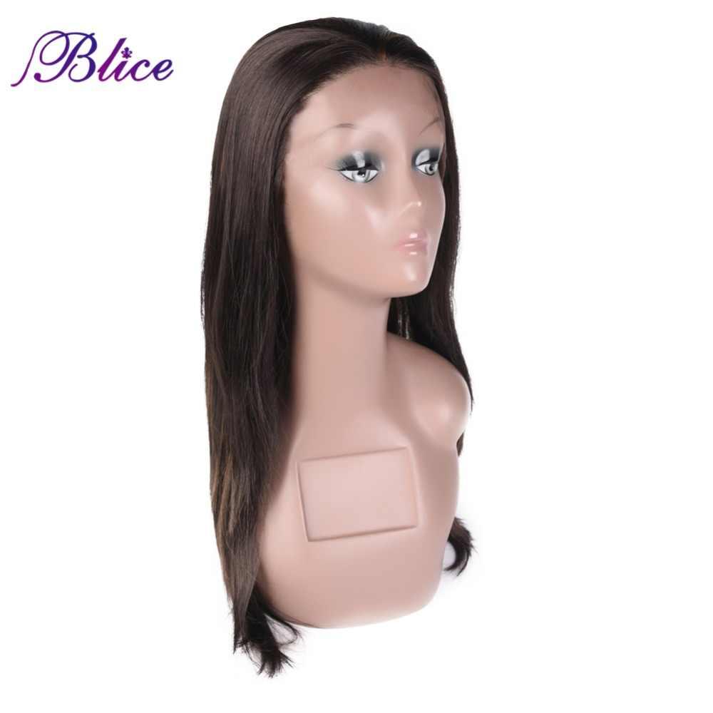 Blice длинные шелковые прямые синтетические волосы парик пианино Цвет P4/27 парик термостойкой, без клея синтетический Синтетические волосы на кружеве парик