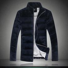 Новый мужской развивать нравственность хлопка мягкие одежды, чтобы согреться куртка