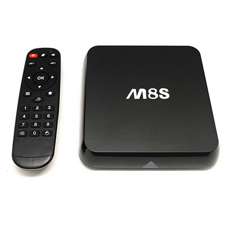 M8S Android TV Box Amlogic S812 Chip 4K 2G/8G XBMC 15.2 Dual Band Wifi Full HD Android 4.4 Smart Media Player M8 TV Box m8 fully loaded xbmc amlogic s802 android tv box quad core 2g 8g mali450 4k 2 4g 5g dual wifi pre installed apk add ons