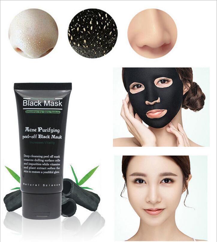 Diy Charcoal Face Mask For Acne Prone Skin: Black Mask Acne Treatment Blackhead Remover Peel Off Black