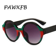 PAWXFB nueva moda ronda Gafas de sol mujeres hombres 3 colores círculo marca  diseñador Gafas de sol conducción Vintage Gafas de . 92d40c2db0ab