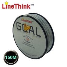 150M  LineThink Brand GOAL Japan Quality Multifilament 100% PE Braided Fishing Line Fishing Braid  Free Shipping