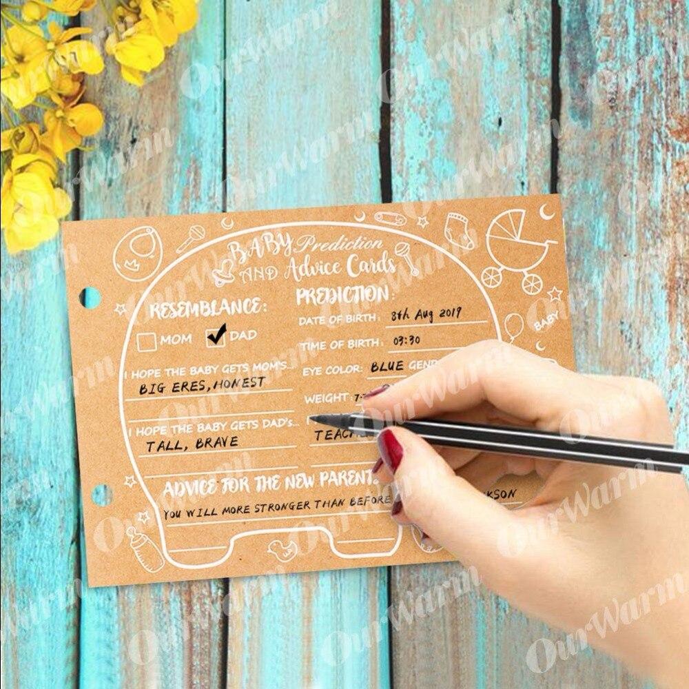 OurWarm Baby Douche Advies Kaarten Olifant Baby Shower Gast Boek Teken in Boek Verjaardag Gastenboek Foto Ablums 19 cm * 14 cm * 2.1 cm 2