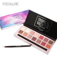 Brand New 14 Colors Focallure Eye Shadow Makeup Palette Shimmer Matte Eyeshadow Kits