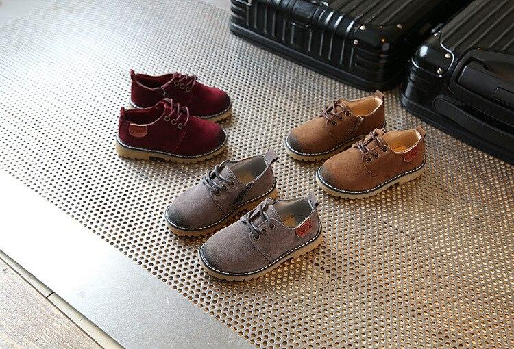 Primavera crianças casuais mocassins sapatos de couro