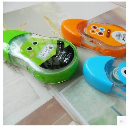 6 PCS M&G Chenguang Big Coffee Variety 20 Meters Correction Tape