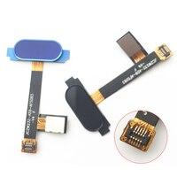 2 cor Impressão Digital Flex Cabo Para DOOGEE Mix 5.5 polegada Botão Menu Home Flex Cable Peças de Reposição