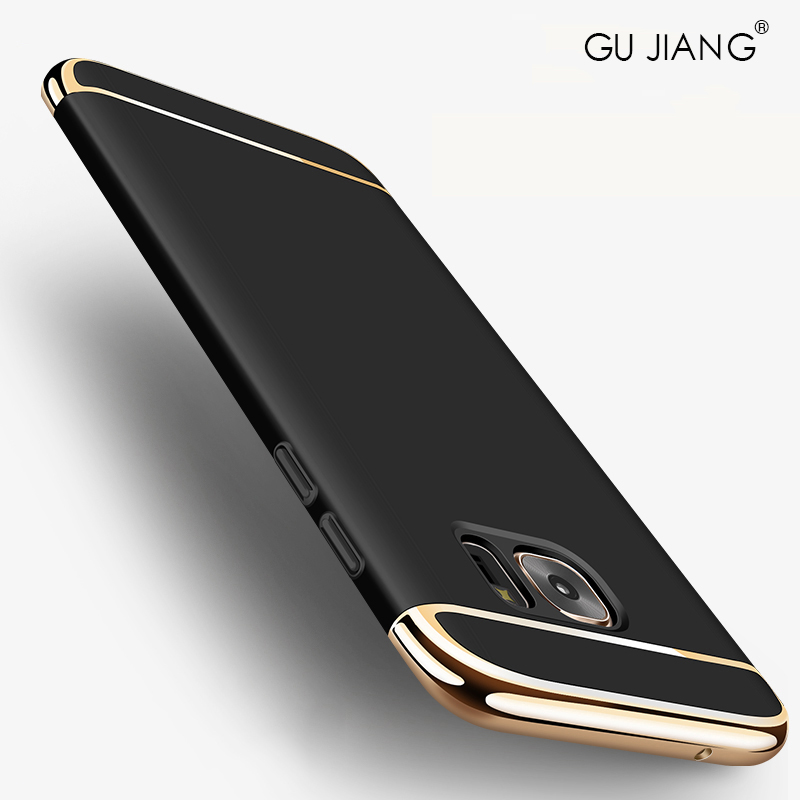 GU JIANG Brand Luxury Full Cover 3 in 1 Case for S...