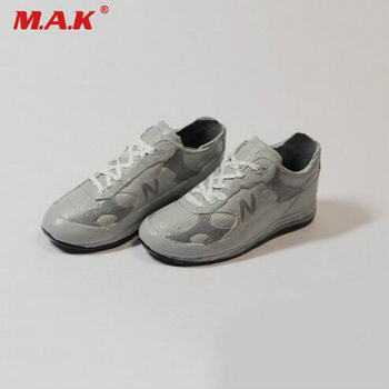 (1pair)hot figure accessory 1/6 S-2 male boy or female girl sports jogging running shoes for Cy girl, ZC, HT,TTL, hot toys gifts