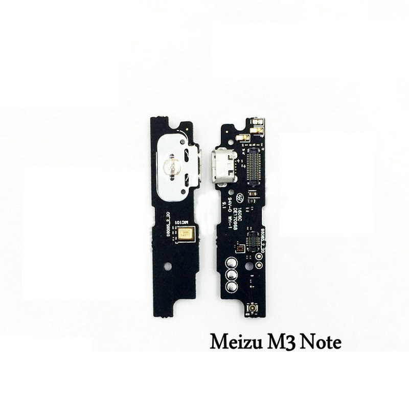 New USB Port Charge Charging Board Tail Plug Flex Cable With Microphone For Meizu M3 Note M3Note Mobile Phone