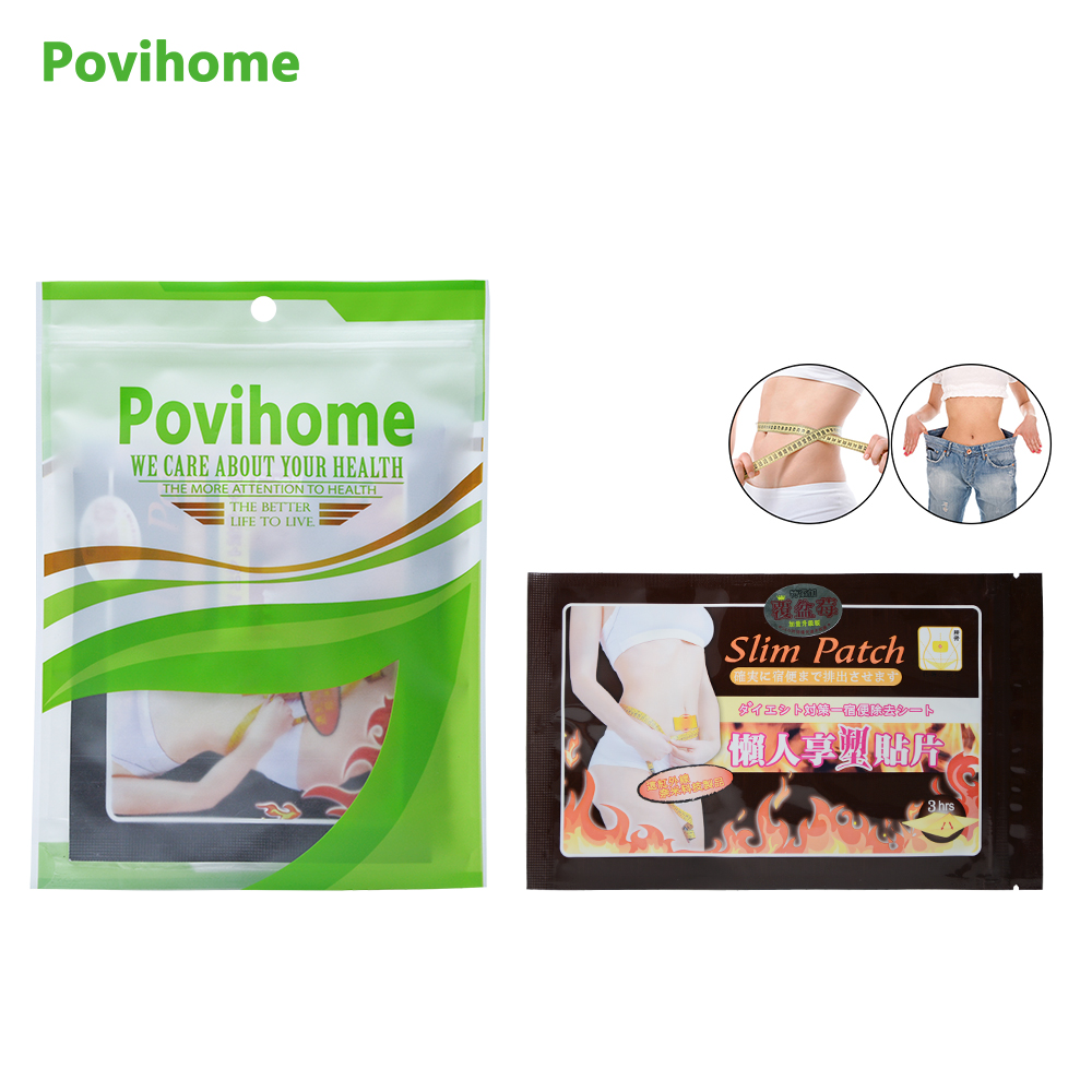 10Pcs/bag Slimming Navel Stick Slim Patch Weight Loss Burning Fat Patch Slimming stick  Weight Loss Fat Burning Health Care C010