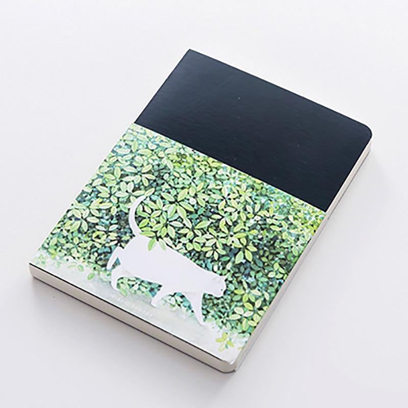 Cute Cat Notebook Paper Sketch Book Office School Supplies Gift New Blank Vintage Sketchbook Diary Drawing Painting 80 Sheet 3
