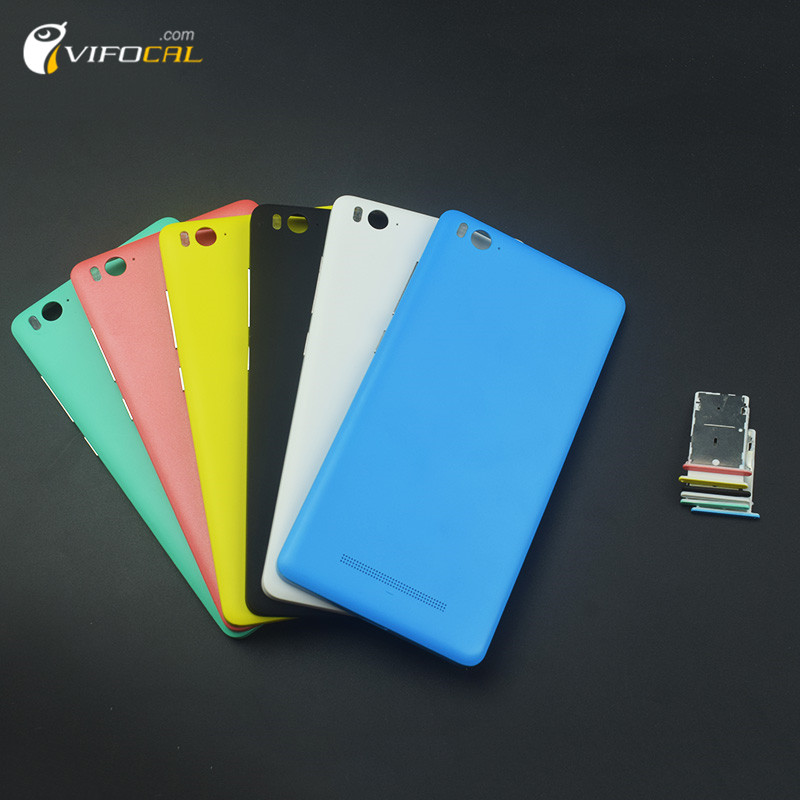 For Xiaomi Mi4C Battery Cover + SIM Tray Durable back case Replacement accessory For Xiaomi Mi 4c Mobile Phone – In Stock