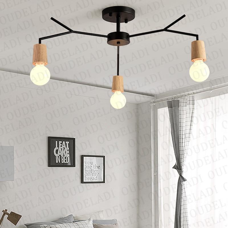 arte aranha lampada do teto retro edison 02