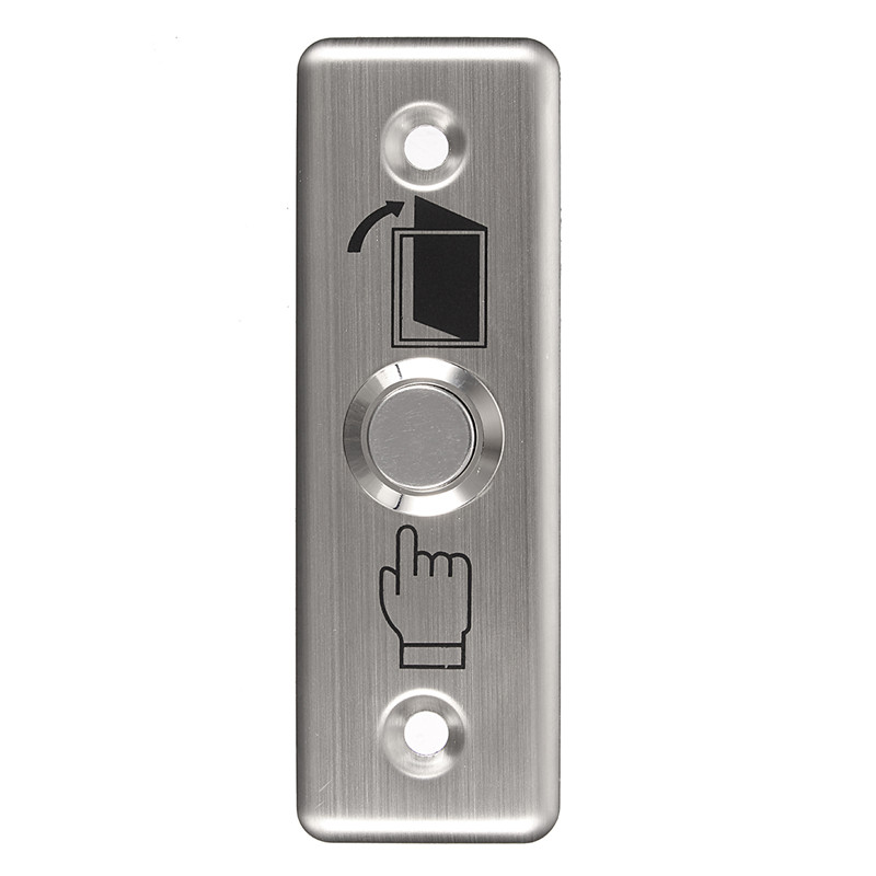 Stainless steel induction switch push button Touch switch door switch Access control switch 86 access control button B models mini interruptor switch button mkydt1 1p 3m power push button switch foot control switch push button switch